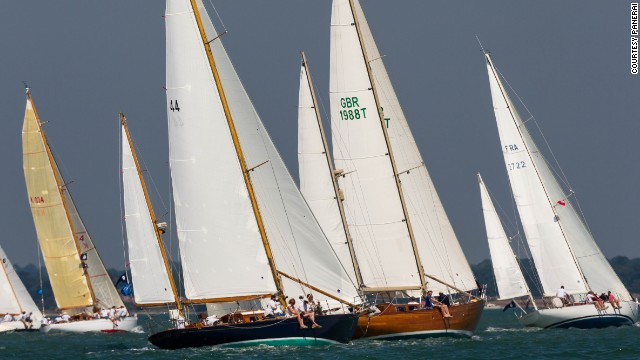 """When you race, especially a vintage yacht, you need to be able to work together as a team. You need experience, agility, safety and boat handling. Classic boats are not only beautiful and elegant. They are very delicate and you must learn to respect them,"" said Bonati."