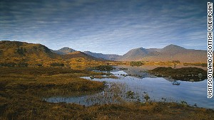 Sh! ... Listen ... Often the only sound on Rannoch Moor is the cry of the curlew.\n