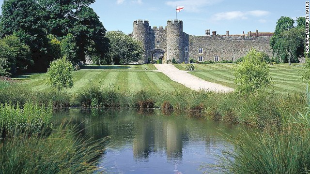 Dating back more than 900 years, Amberley Castle was once owned by Queen Elizabeth I. Today, the castle incorporates 19 spacious yet traditional suites, a tennis court and a golf course.