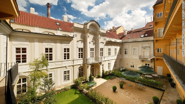 The Pachtuv Palace gained its name from being the residence of Earl Hubert Karel Pachta, who purportedly locked Mozart, who was a temporary resident here, in a room until he finished Don Giovanni.