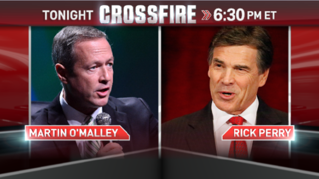 Tonight at 6:30 ET: Perry vs. O'Malley on economy, jobs
