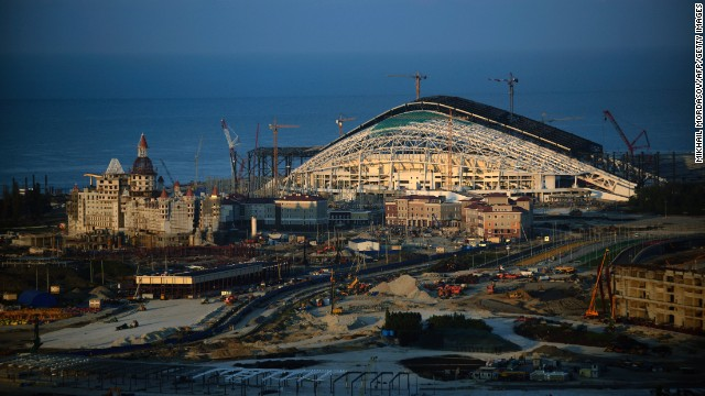 Sochi gets ready to put on a show