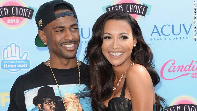 How 'Glee's' Naya Rivera met Big Sean