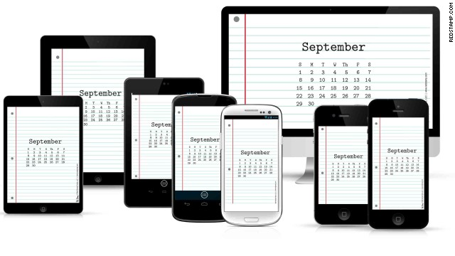 What day is it? <a href='https://www.redstamp.com/desktop-calendars' target='_blank'>Red Stamp's calendar wallpaper</a> can be updated each month to keep your calendar on track.