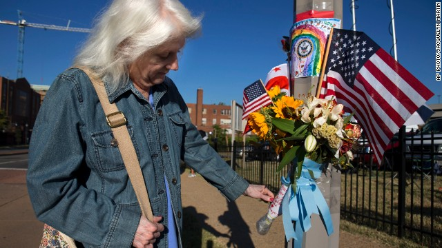 Photos: Nation mourns Navy Yard victims