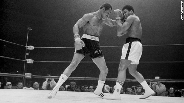 Forty years after rising to the top of the boxing world and outdueling Muhammad Ali, Ken Norton, left, died at a Nevada medical facility after a stroke on September 18. He was 70.