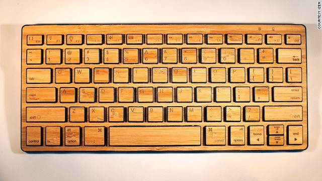It's wireless, it looks great and it's 92% biodegradable. iZen's latest keyboard is made from bamboo, which is one of the world's most renewable and compostable resources.