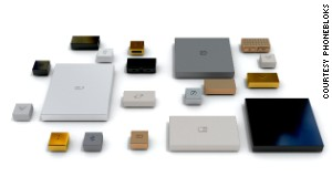 Phonebloks will be composed of modular pieces or \'bloks\' which click together like Lego