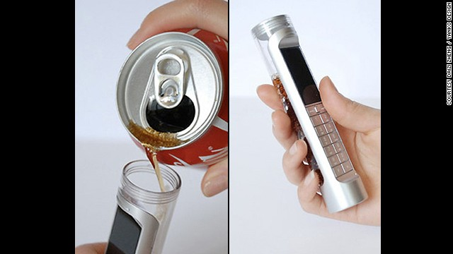 The designers at Phonebloks are not the only ones seeking a solution to the planet's growing e-waste problem. One of the zanier concepts by Daizi Zheng is a phone powered by a 'bio battery' that feeds on the sugars and enzymes in Coca Cola <i>and </i> it's supposed to last 3-4 times longer than a lithium battery.