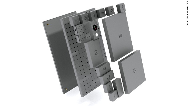When electronics decide to give up it's usually just one component that's causing the problem. Enter Phonebloks: a fully customizable phone built from, you guessed it, blocks. Phone getting slow? Change the memory block. Like taking pictures? Update your camera. The blocks then attach easily to a base which connects them all together.