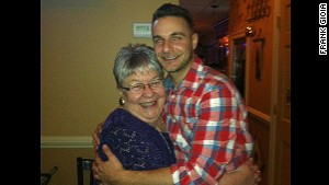 Guidance counselor Frank Gioia with his Aunt Jane