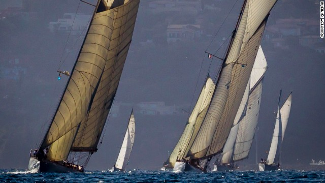 """The fleet attending our regattas represents over a century of yachting history, spanning the spectrum from the sport's earliest days -- from the end of the 19th century to the present day,"" said Angelo Bonati, chief executive of sponsors Panerai."