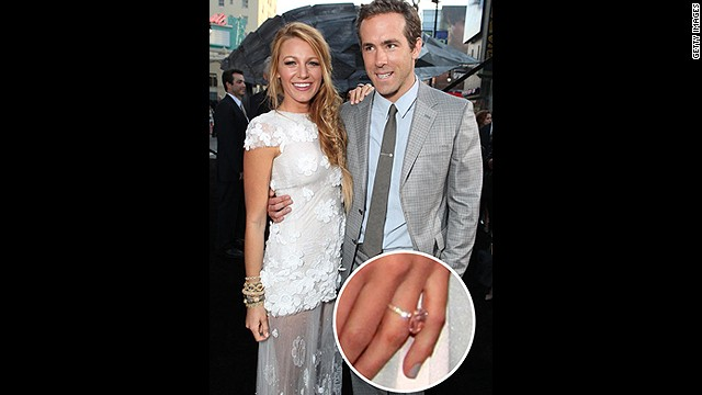 Though they managed to keep their engagement and wedding private, there's no way Blake Lively's Lorraine Schwartz diamond can go under the radar.