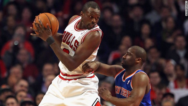 Luol Deng is British citizen who was born in Sudan. He has been with the Chicago Bulls since 2004.