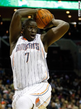 Desagana Diop, a Senegalese center, was the 8th pick in the 2001 NBA Draft. He has played for the Charlotte Bobcats since 2009.