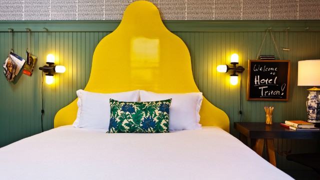 "San Francisco's Hotel Triton, a Kimpton property, was named a ""local character"" award winner. ""It's a very colorful place and fantastic location near Union Square,"" says Bowen. It's got ""a refreshingly funky atmosphere, and it's a great value as well."""