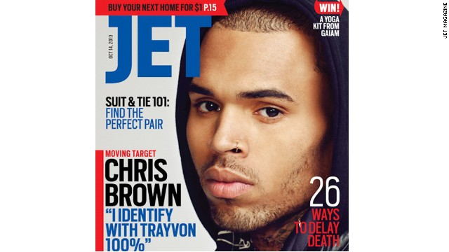 Chris Brown says he identifies with Trayvon Martin, calls out Jay Z in new interview