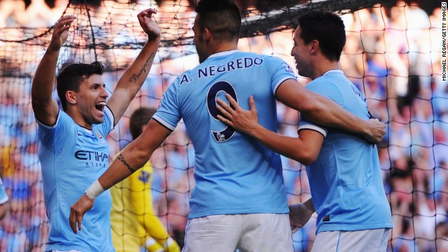 Derby joy for Manchester City