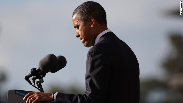 Transcript: Obama's Navy Yard shooting remarks