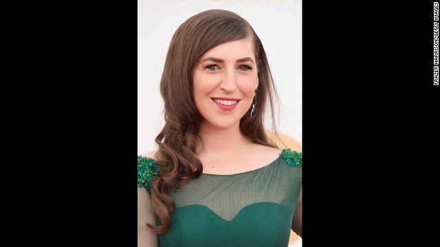 """The Big Bang Theory"" star Mayim Bialik"