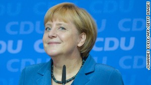 Angela Merkel makes gains in German elections