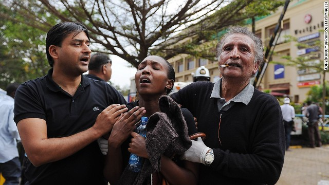 Attackers defeated in mall siege, Kenya's president says