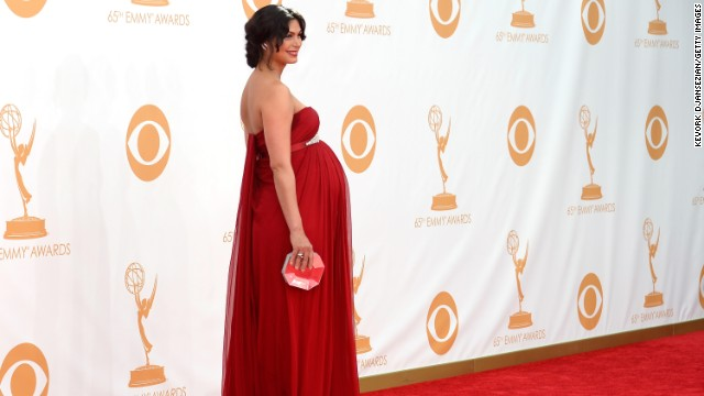 "Morena Baccarin of ""Homeland"" was nominated in the outstanding supporting actress in a drama series. She ended up losing out to ""Breaking Bad's"" Anna Gunn. ""The thing about being a loser is (you're) in great company,"" Baccarin tweeted."