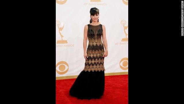 "Constance Zimmer of ""The Newsroom"""