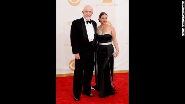 """Breaking Bad"" star Jonathan Banks and wife Gennera"