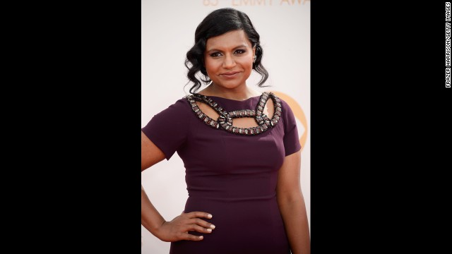 """The Mindy Project"" star Mindy Kaling was one of the evening's presenters."