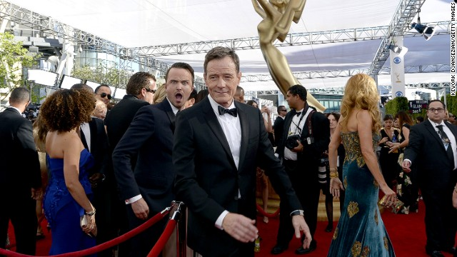 2013 Emmys: Stars on the red carpet