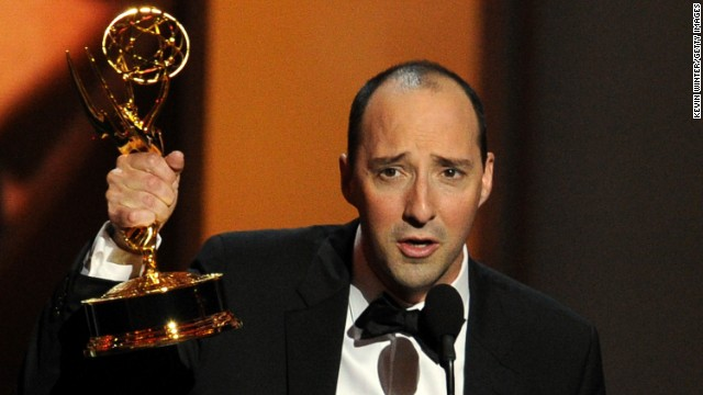 "Outstanding supporting actor in a comedy series: Tony Hale, ""Veep"""