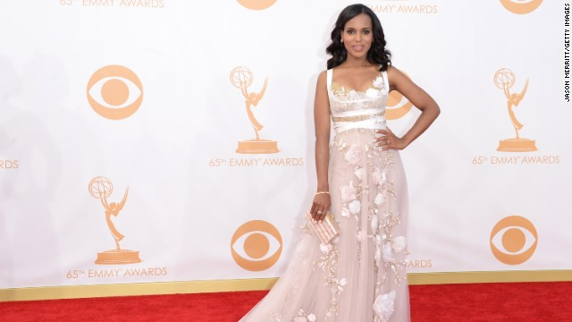 "Kerry Washington was nominated for outstanding lead actress in a drama series for her portrayal of Olivia Pope on ""Scandal."""