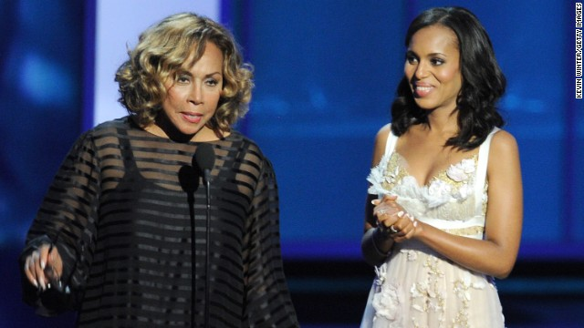 2013 Emmys: Diahann Carroll and Kerry Washington FTW