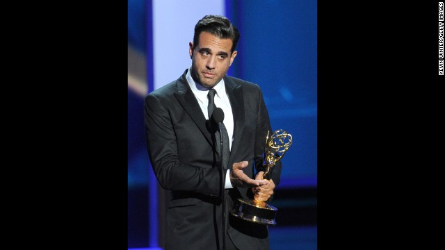 "Outstanding supporting actor in a drama series: Bobby Cannavale, ""Boardwalk Empire"""