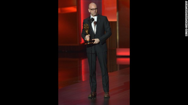 "Outstanding miniseries or movie and outstanding directing for a miniseries or movie: Steven Soderbergh, ""Behind the Candelabra"""