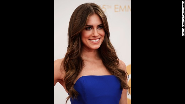 "Actress Allison Williams was among the ""Girls"" cast members who showed up to support the show's outstanding comedy series nomination. ""Girls"" lost to ""Modern Family."""