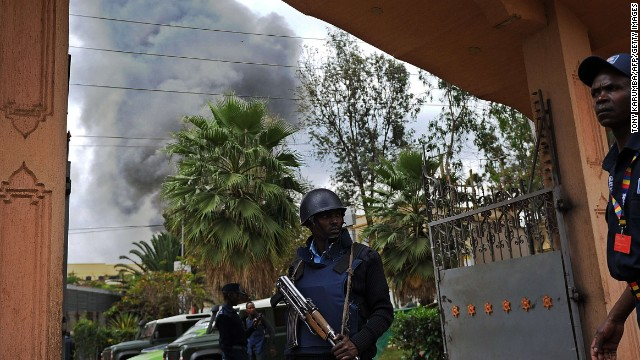 Photos: Kenya mall attack