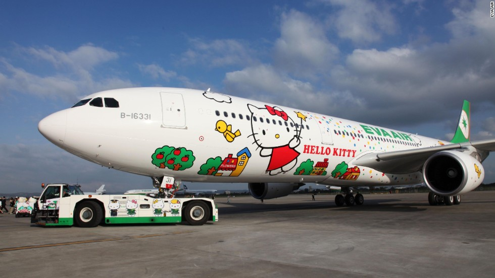Jet Hello Kitty, EVA Air