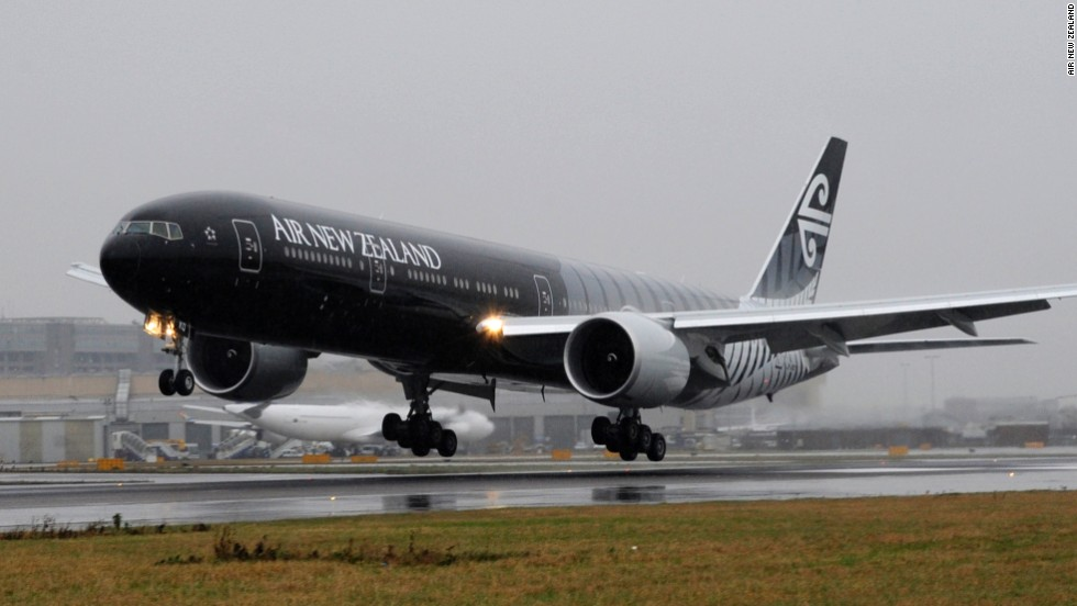 Avión de los All Blacks, Air New Zealand