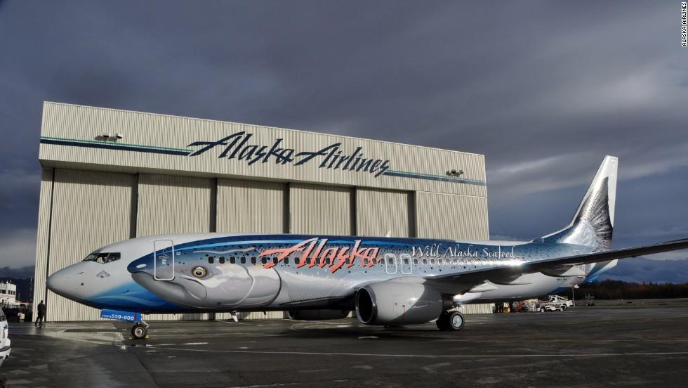 Avión salmón, Alaska Airlines
