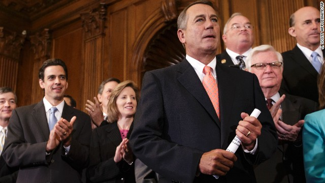 Speaker John Boehner, R-Ohio -- The coach. He'll make the key play call. The top Republican leader in the land may be the most important player in the days immediately before a possible shutdown. Boehner could decide whether to push through the Senate's version of a spending bill and keep government running, or he could float a third version with some other Republican wish list items in it. If he takes the second option, Boehner could risk a shutdown but could also force the Senate into a tough position: give House Republicans something or send federal workers home. Timing on all this will be critical.