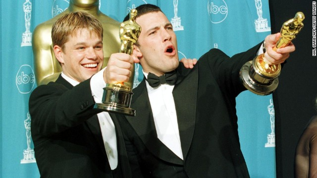"Matt Damon and Ben Affleck are the poster boys of bromance. In fact, when Affleck was cast as Batman, there were many jokes about <a href='http://marquee.blogs.cnn.com/2013/08/28/matt-damon-is-not-playing-robin-to-ben-afflecks-batman/'>Damon playing Robin</a>. After their Oscar-winning script for ""Good Will Hunting,"" the pair continued to work together, mostly in Kevin Smith movies like ""Dogma."" We have a feeling they'll be teaming up again one day, at least after Affleck dons the cape and cowl."