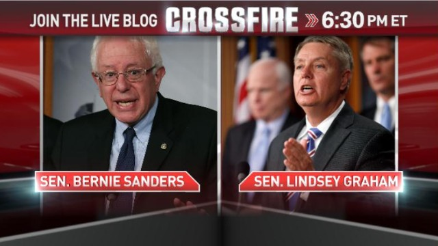 In the Crossfire: Sens. Graham & Sanders