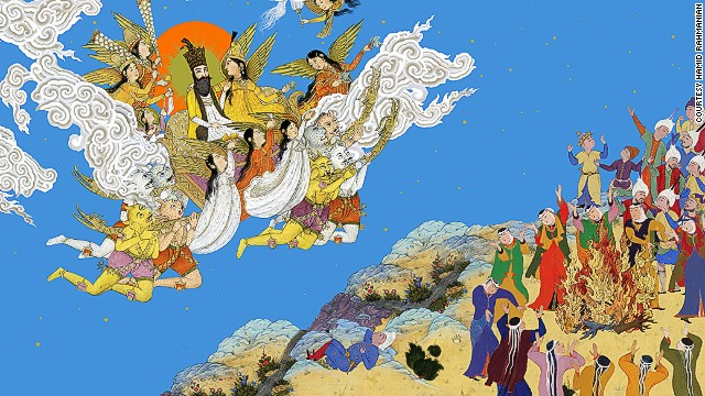 Though there is a long history of visual versions of the Shahnameh, illustrating the text has fallen out of fashion of late. Rahmanian's version is one of the first graphic renditions to hit the shelves in 100 years.