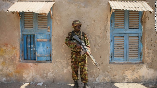 Kenyan troops are deployed in Somalia, as part of an African Union mission fighting Al-Shabaab.