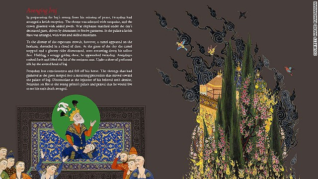 The Shahnameh's original author, Abol Ghassem Ferdowsi, spent 30 years gathering Persian folklore, myths and histories, before compiling it into his epic poem.