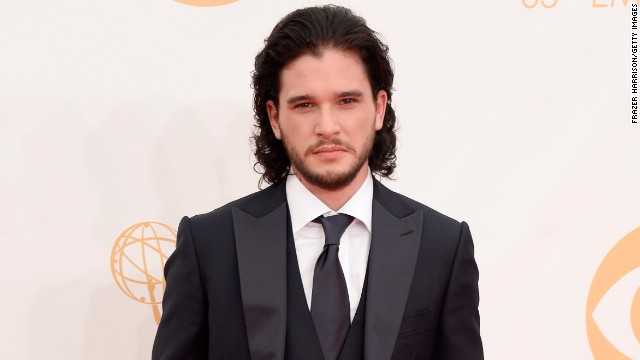 Kit Harington stars as Jon Snow on HBO's