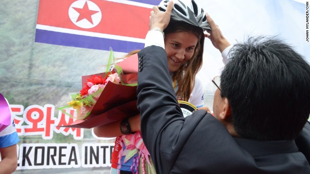 Bike race into North Korea