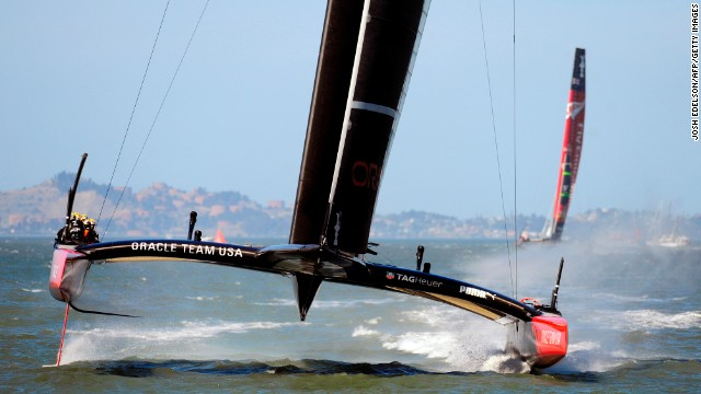 America's Cup comeback complete as Oracle Team USA wins deciding race